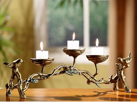 Bird & Branch Candelabra