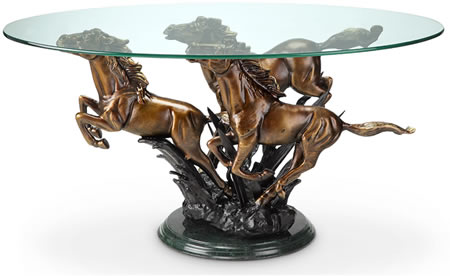 Galloping Horse Trio Coffee Table Spi San Pacific