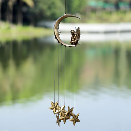 Moon and Fairy Wind Chime