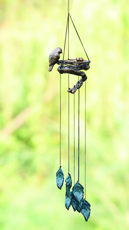 Bird & Nest Wind Chime