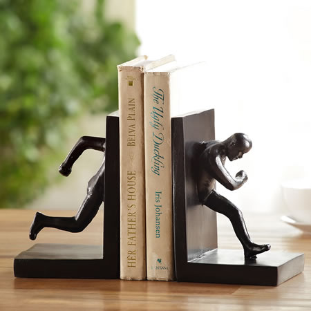 Running Man Bookends