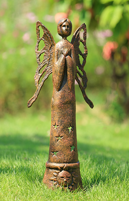 Praying Angel Garden Sculpture