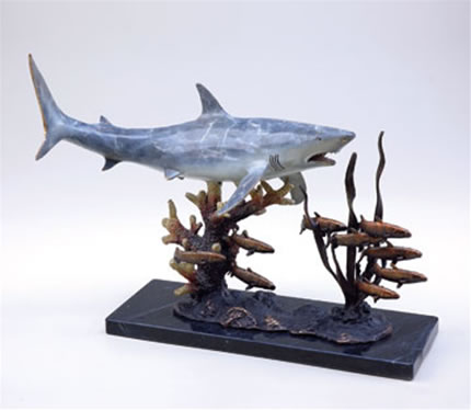 Imperial Shark with Prey