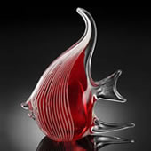 Angel Fish, Red