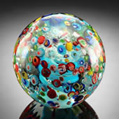 Confetti Sphere/Paperweight