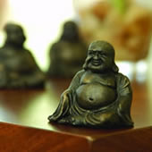 Buddha Minimals Mini Figurines, Pack of 3