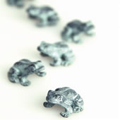Hopping Frog Minimals Mini Figurines, Pack of 6