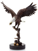Eagle on Branch Statue