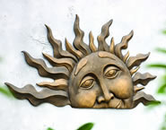 Half Sun Wall Plaque