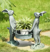 Bunny Gardeners Pot Holder