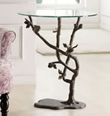 Bird & Pinecone Table