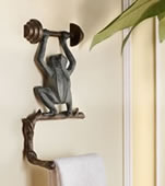Frog Wall Mounted Toilet Paper Holder