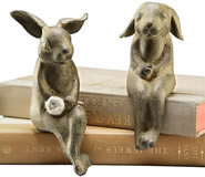 Bunny Lovers Shelf Sitters Pair