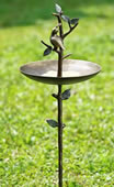 Quail Bird Feeder with Stake