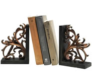 Scroll Bookends Pair