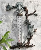 Frog Wall Mounted Thermometer 16 Inch