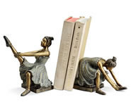Ballerina Student Bookends