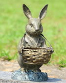 Bunny Butler with Basket
