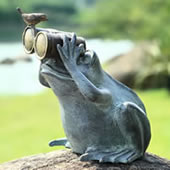 Spectator Frog with Friend