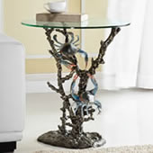 Crabs with Coral End Table