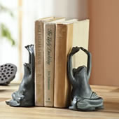 Yoga Frog Bookends