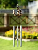 Bunny Boaters Windchime