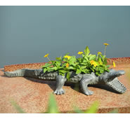 Alligator Planter Holder