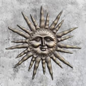 Dawn's Light Sun Wall Plaque