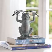 Frog on Lilypad Eyeglass Stand
