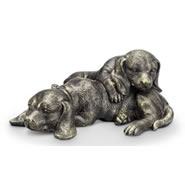 Sleepy Pups Paperweight (dogs)