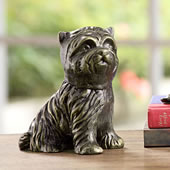 Aggie the Pup Dog Paperweight