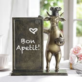 Bull Chef Menu Board