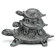 Turtle Trio Jewelry Box