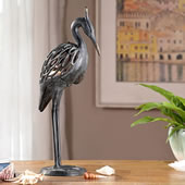 Heron Tealight Holder