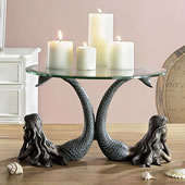 Mermaid Duet Table Server/Candleholder