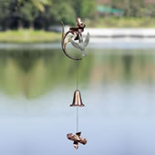 Feeding Hummingbird Wind Bell