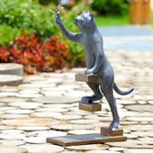 Step By Step Cat Garden Sculpture