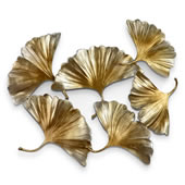 Gingko Leaf Wall Sculpture