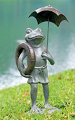 Pool Partner Frog Garden Sculpture
