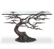Cypress Tree Console Table