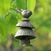 Hoop Skirt Rabbit Windchime