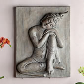 Seated Buddha Wall Hanging