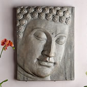 Buddha Head Wall Hanging