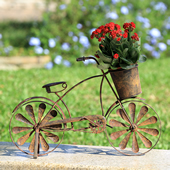 Antique Bicycle Flowerpot Holder
