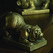 Bulldog Bookends (Pair)