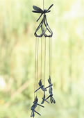 Stylized Dragonfly Wind Chime
