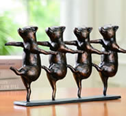 Dancing Pigs on Parade