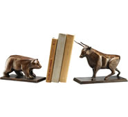 Bull & Bear Bookends Pair