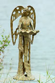 Garden Angel Bird Feeder 27 Inch
