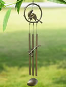 Bird Tube Wind Chime